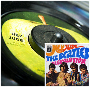 Beatles Hey Jude collage