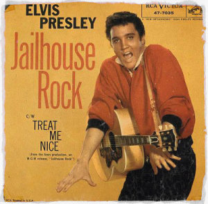 elvis-presley-jailhouse rock single