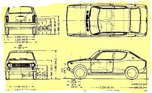 Datsun100A DeLuxe