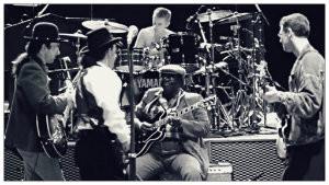 BB King en U2 b