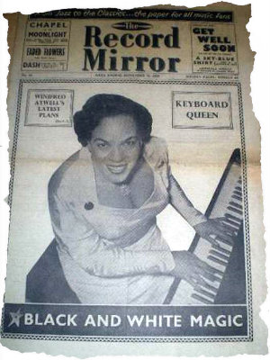 Record Mirror First Issue 1954 bewerkt