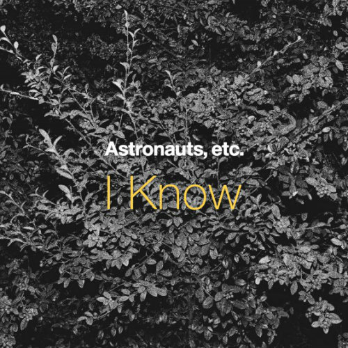 Astronauts etc - I know