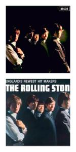 Rolling Stones Debut album collage