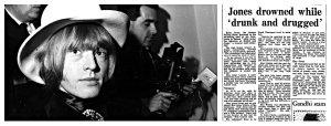 Brian Jones collage