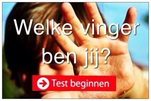 Test Welke vinger ben jij
