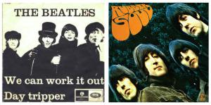 Beatles We can work Rubber