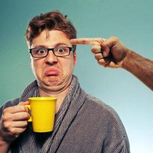 Knopje koffie